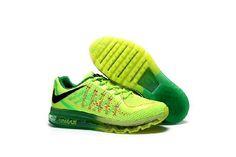 Nike Air Max 2017 Fluorescein Green Net Sports Shoes