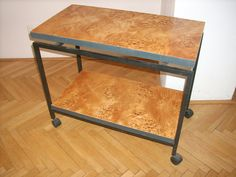 Servierwagen Restauration Kitchen Cart, Drafting Desk, Projects, Furniture, Home Decor, Log Projects, Blue Prints, Decoration Home, Room Decor