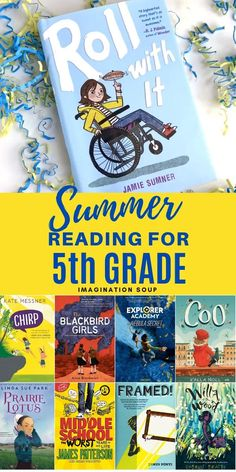 Get updated, kid-favorite summer reading recommendations of books for your kids ages 10 or 5th Grade Books, 5th Grade Reading, Kids Reading, Beach Reading, Audio Books For Kids, Childrens Books, Good Books, Books To Read, My Books