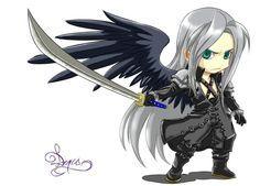 Sephiroth Fanart by Archiri.deviantart.com on @deviantART