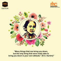 Kartini Quotes, Qoutes About Love, Quotes Indonesia, Independent Women, Some Quotes, Coconut Sugar, Illustrations And Posters, Galaxy Wallpaper, Good Night Sleep