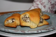Semi Homemade Mom: Sausage Cream Cheese Crescents - #Cresent Roll Recipe #Sausage #Breakfast #Foods
