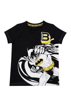 Primark - Black Batman T-Shirt