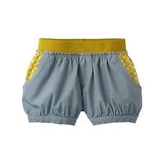Sweet Uniqlo shorts. But are they for babies or go-go dancers?