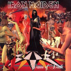 Iron Maiden - Dance of Death - 2003 Album Cover