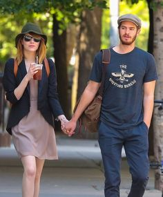 Emma Stone Photos: File: Emma Stone & Andrew Garfield Are Taking a Break