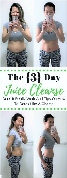 3 Day Juice Cleanse Before & After Photos | Tips on How to Successfully Complete A Juice Detox | A Beautiful RAWR