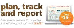 Plan, Track and Report - Common Core Standards