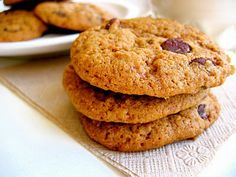 Almond Pulp Chocolate Chip Cookies: great way to use those homemade almond milk leftovers