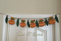 HandmadeuniqueKalsh and mango leaf shape by dotnswirls on Etsy