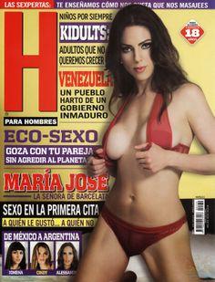 Maria Jose Suarez Revista H Abril 2014 [Scans HQ] | FamosasMex