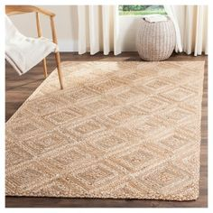 For Safavieh Natura Handmade Contemporary Ivory Stone Wool Rug 6 X 9 Get Free Shipping At Com Your Online Home Decor Outlet