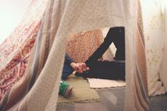 the one i love will build a fort with me and enjoy lounging around in it with me.  if not, he is not for me.