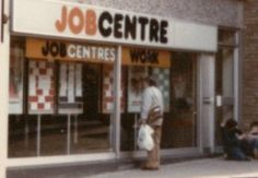 Job Centre in Ross on Wye circa 1980