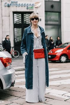 Polished Pinstripes to Wear Now