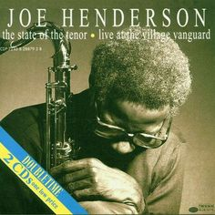 the state of the tenor Joe Henderson, Jazz, Great Albums, Cd Album, Album Covers, The Originals, Live, Language, English