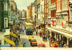 Old Dublin Photos - Old Dublin Town Ireland Pictures, Images Of Ireland, Old Pictures, Old Photos, Dublin Street, Dublin City, Cork Ireland, Dublin Ireland, Grafton Street
