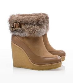 Andrea Wedge   Womens Boots & Booties   ToryBurch.com