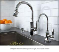 Newport Brass Metropole 1200 5103 · Newport BrassKitchen FaucetsHouse ...