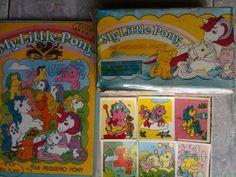 My Little Pony 200 Envelopes Stickers in The Original Box Album Venezuela 1986