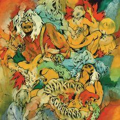 Shaking Godspeed - Maarten Donders - artwork & illustration