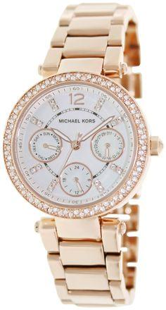 ba596946929 Amazon.com  Michael Kors Women s MK5616 Parker Rose Gold Watch  Michael Kors