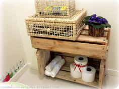 Crate/pallet organizer