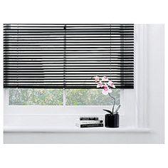 Aluminium Venetian Blind 90cm - Black £7.94