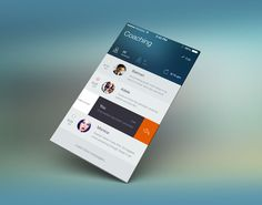 Interesting iOS 7 User Interface Concept Designs And Apps Redesigns
