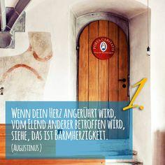 Zitat zum Advent von Augustinus Kirchentüre: St Anna Heiligkreuztal Altheim Baden-Württemberg