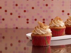 Cinnamon Sugar Graham Cupcakes recipe
