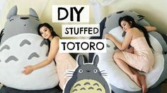 To all my Hayao Miyazaki fans, I hope you enjoy this diy tutorial of Totoro. It was so fun seeing the whole thing come together! I used fleece and felt to pu...
