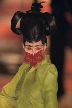 Givenchy by Alexander McQueen. It would be so much fun to wake someone up while wearing this.