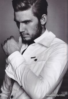 Alex Pettyfer...it's rumoured he is in talks to play Christian Grey.  OH. MY. GOD!!!