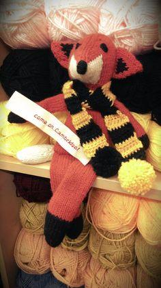 #CambridgeUnited #Foxy #Knitting