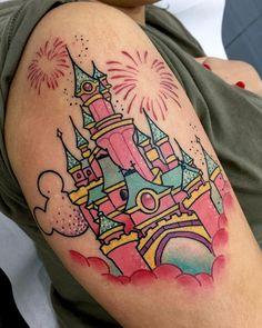 Castillito Disney!! Me encantó hacer este tattoo!! Muchas gracias a tod@s los que me pedís estos trabajos!!!!