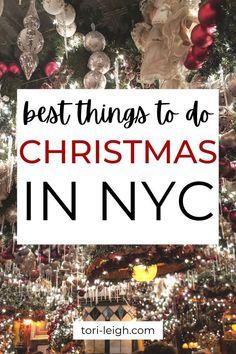 Christmas Getaways, Christmas Destinations, Christmas Travel, Christmas Markets, Kids Christmas, Holiday Travel, Magical Christmas, New York City Vacation, New York City Travel
