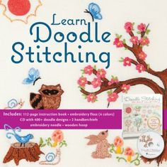 Learn Doodle Stitching: 400+ Easy Embroidery Designs
