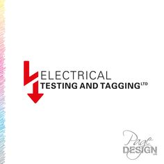 Logo design for Electrical Testing and Tagging, Rotorua, NZ Page Design, Graphic Design, Logos, Logo, Visual Communication