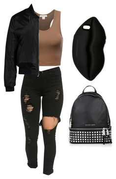 """Untitled #117"" by rashalabieber ❤ liked on Polyvore featuring Michael Kors, Sans Souci and STELLA McCARTNEY"