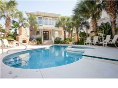 Santa Rosa Beach Real Estate: 5 Bedroom Home Seclusion Dunes MLS 603075 Destin Real Estate Destin to 30a Real Estate
