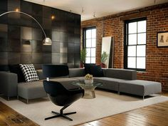 31 Ultimate Industrial Living Room Design Ideas | For the Home ...