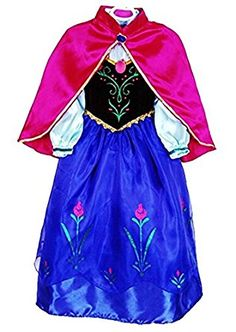 Amazon.com: JerrisApparel Snow Party Dress Queen Costume Princess Cosplay Dress Up: Clothing