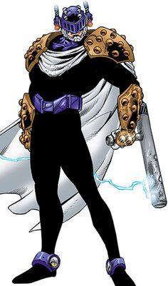 Prometheus II - DC Comics - JLA   Batman enemy