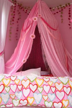 canopy for girlie room :) i Dont care how old i get i still love these