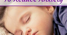Kids and Anxiety Insomnia Remedies, Sleep Remedies, Insomnia Help, Natural Sleep Aids, Sleep Problems, Sleep Better, How To Get Sleep