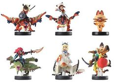 Amiibo 6 set Monster Hunter Stories Barioth Rathia Cheval Rathalos Rider B&G etc | Video Games & Consoles, Video Game Accessories, Toys to Life | eBay!