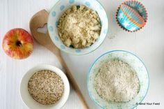 Ontbijtmuffins met appel en kaneel - Mind Your Feed