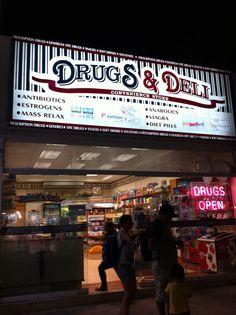 Playa del Carmen, Mexico - Drugs & Deli .... convenience(!) store