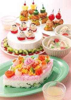 Japan- birthday food